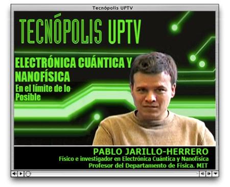 Visor Programa Electróncia Cuántica conPablo-jarillo-herrero