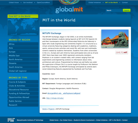 GLOBAL MIT MITUPV